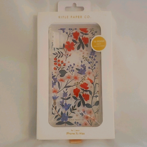 iPhone XS Max case by The Rifle Paper Co NEW